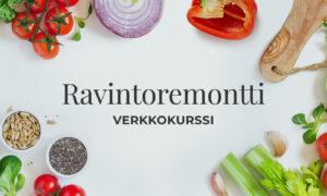 Ravintoremontti-verkkokurssit