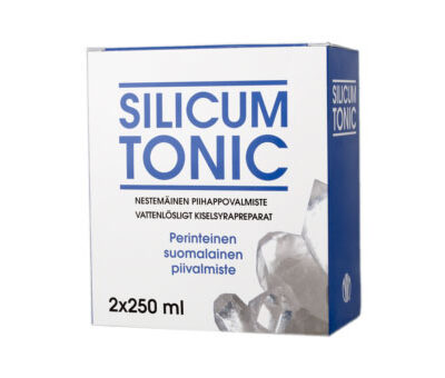 Biomed Silicum Tonic piihappogeeli 2x250 ml