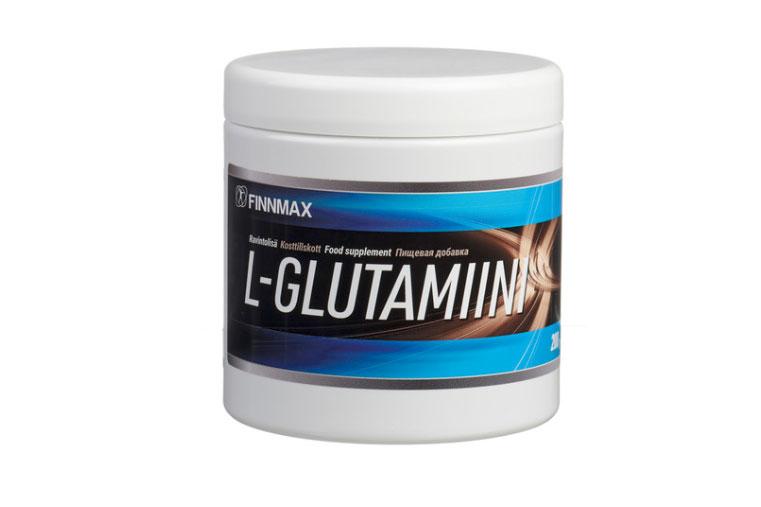 Finnmax L-glutamiini 200 g